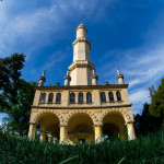Minaret in the Ledince park serves as a viewing tower. Photo: Petr Jan Juračka